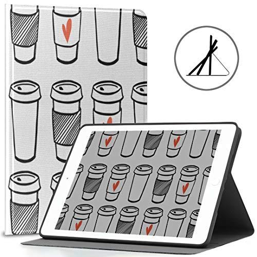 Case for Apple pad 9.7 kaffeetasse tägliche trinkversorgung fit 2018/2017 pad 5th / 6th Generation 9.7 pad Abdeckung auch fit pad air 2 / pad air Auto Wake/Sleep