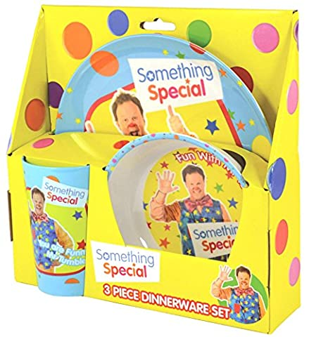Something Special Mr Tumble 3-Piece Dinner Set   Mealtime   Dinnerware by Something Special