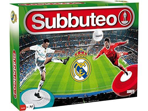 Eleven Force Subbuteo Real Madrid 40x28-6 años,, Ninguna (63560)