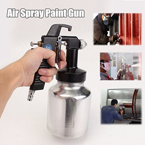 Niederdruck Air Spray Gun House Latex Fleck Lack Painting Zaun NEU