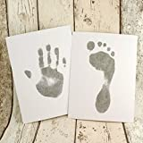 Six sheet Baby Hand and Foot Print Inkless Wipe Kit - ready to frame sizes baby footprint kit from Bella Beso