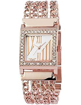 Excellanc Damen-Armbanduhr Analog Quarz verschiedene Materialien 150832500029
