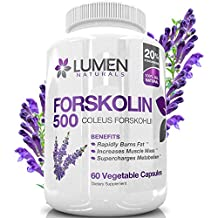 Forskolin 500mg 2X Strength standardizzato al 20% - Acquista il