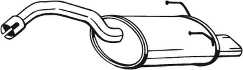 Bosal 148-171 Endschalld/ämpfer