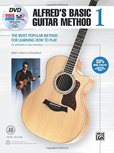 Alfred's Basic Guitar Method, Bk...