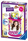 Ravensburger Italy 12095 - Puzzle 3D Girly Girl Portapenne Soy Luna