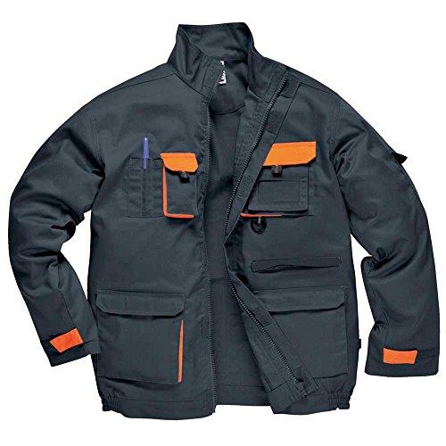 Portwest Veste de contraste (TX10) Gris - Grey/Orange