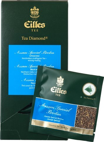 Eilles Luxury World Selection Tea Assam Special Broken – 20 Tea Diamonds einzelverpackt