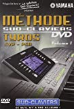 Méthode sud-claviers, vol. 1 : tyros cvp-psr [Francia] [DVD]