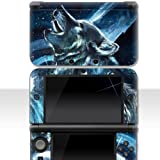 "Nintendo NEW 3DS XL Skin "" WOLF "" Aufkleber Sticker"