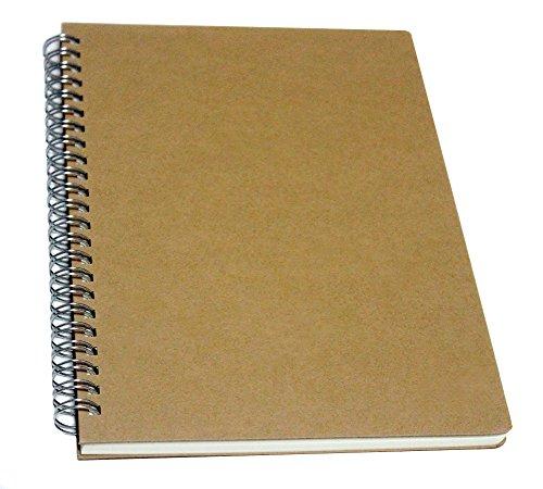 yuree Spirale Notebook/Spirale Tagebuch, Hardcover Spiral Notizbuch liniert, breit liniertes Papier, 140sheets-a5, 21,3x 15cm