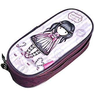 Gorjuss Sugar and Spice Zip Around Pencil Case