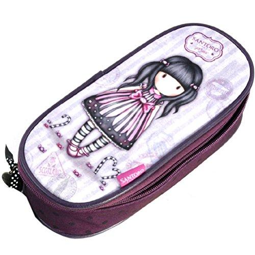 Sugar & spice gorjuss vacation zip around pencil & accessory case