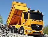 WIM-SHOP RC Muldenkipper LKW Mercedes mit 8 Funktionen 37cm Ferngesteuert 2,4GHz