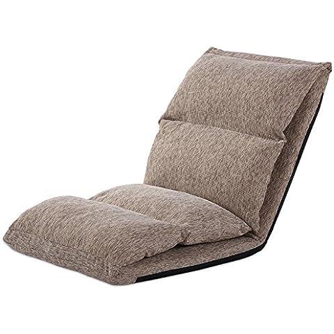 Dngy*persona perezoso sofás cama tatami americana sofás único panel flotante dormitorio piso puede plegar el asiento , caqui