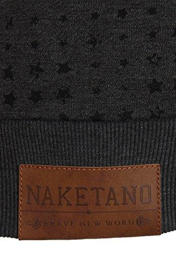 Naketano Female Zipped Jacket Stern aller Brazzos V Anthracite Melange