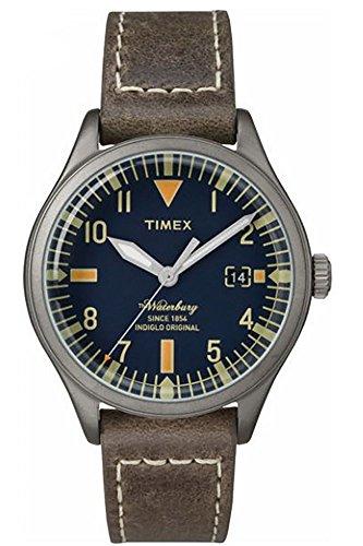 Timex Orologio Analogueico Quarzo Donna con Cinturino in Pelle TW2P84400