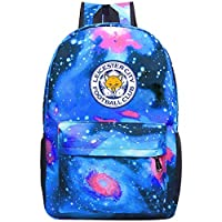 XKYZTKB Leice-ster City Travel Laptop Backpack Galaxy Pattern School Bag