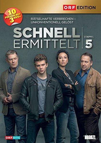 Preisvergleich Produktbild Schnell ermittelt: Staffel 5 [3 DVDs]