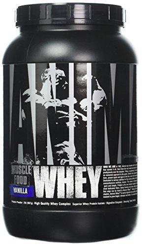 Universal Nutrition, Animal Whey (2 lb) Vanilla, 908 g - 2 Lb Muskelaufbau