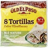Tortillas de ble nature - 326 g