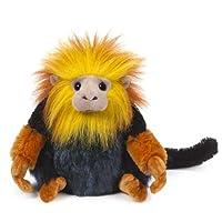 Webkinz Golden Lion Tamerin Plush with Sealed Adoption Code