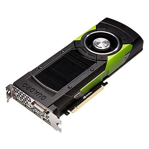 PNY VCQM6000-PB Nvidia Quadro M6000 Scheda Grafica Professionale, 12 GB, GDDR5, PCI-Express 4K 4 x DP + DVI + Stereo