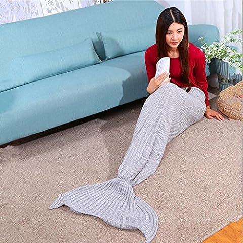 GT-Baumwolle Decke Decke TV Seejungfrau Sofa Decke Klimaanlage war Größe: