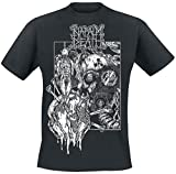 Napalm Death Harmony corruption Camiseta Negro XXL