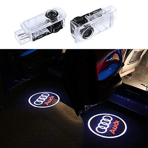 4xWillkommen Licht Einstiegsbeleuchtung auto Auto Türbeleuchtung Licht Türbeleuchtung 3D LOGO Einstiegsbeleuchtung Projektion LED Licht Door Shadow