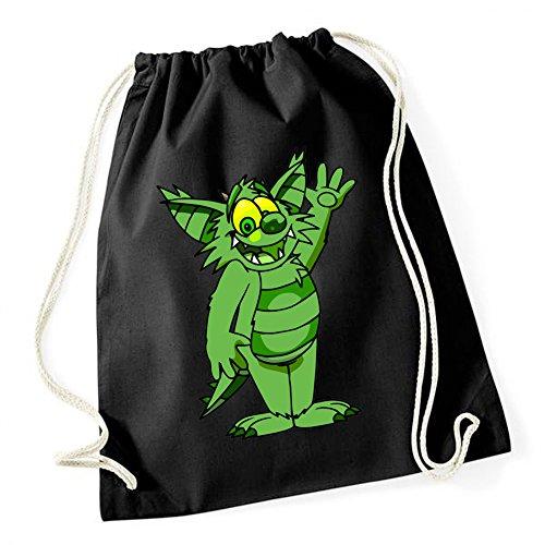 Green Monster Gymsack Black Certified Freak (Mickey Und Pluto Halloween)