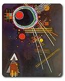 Wassily Kandinsky - Linee Di Radiazione, 1927 Tappetino Per Mouse (23 x 19cm)