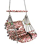#5: kaushalendra baby swing hammock Soft multicolour with safety belt baby fill relaxed