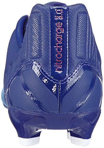 adidas Performance  Nitrocharge 3.0 FG, Chaussures de football pour compétition homme Multicolore - Mehrfarbig (Amazon Purple F14/FTWR White/Solar Blue2 S14)