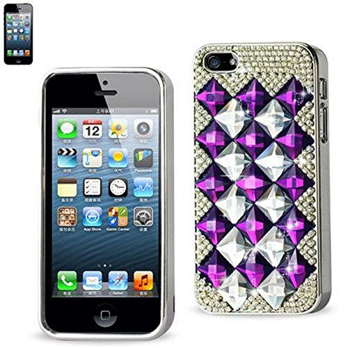 Reiko Chaîne Diamant Coque pour iPhone 5-Vert