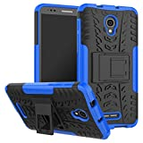Caseforyou Fall Alcatel OneTouch Pop 4 Plus Hülle Ultra Cimbreño Protégereur Iridescent Protégereur Caja Protégereur Fall for Alcatel OneTouch Pop 4 Plus (Blau)