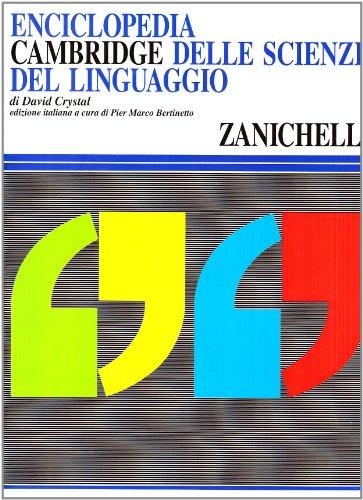 Enciclopedia Cambridge delle scienze del linguaggio