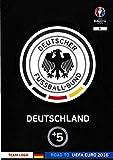 Panini Adrenalyn XL Road To UEFA Euro 2016 Logo équipe de Cartes-Allemagne