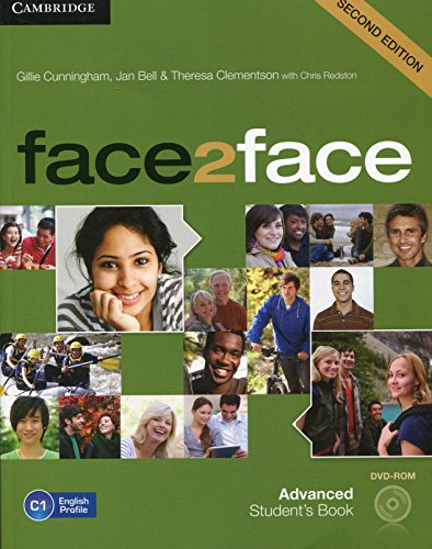 face2face Advanced Student's Book with DVD-ROM Second Edition por Cunningham