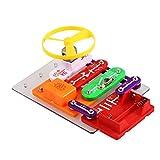 Smibie W-58 Elektro Baukasten pädagogisches Spielzeug,Elektronik-Baukasten Elektronik Set mit Experimenten Elektronik-Praxis DIY Schaltungen für Kinder