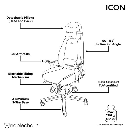 noblechairs ICON Gaming Stuhl - 7