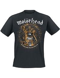 Motörhead Bass Guitar Camiseta Negro