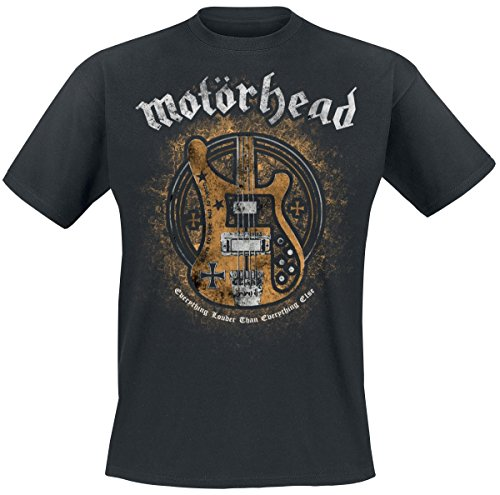 Motörhead Bass Guitar Camiseta Negro XL