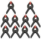 20 x Federzwinge Klemme Federzwingen Klemmen 4'/11,5 cm