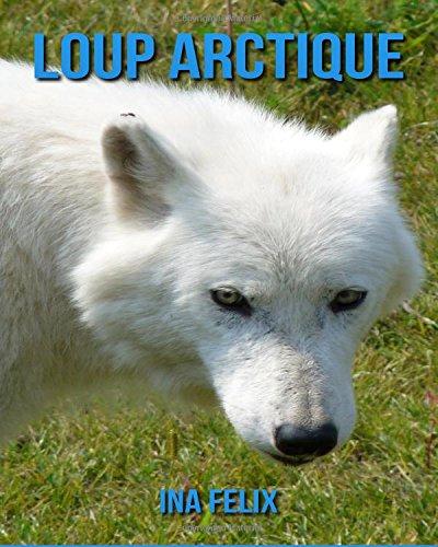 Loup Arctique: Le livre des Informations Amusantes pour Enfant & Incroyables Photos d'Animaux Sauvages – Le Merveilleux Livre des Loup Arctique pour enfants âgés de 3 à 7 ans par Ina Felix