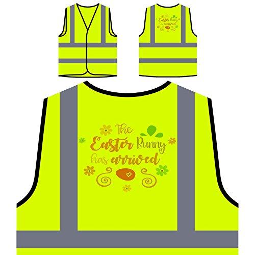 Personalisierte High Visibility Gelbe Sicherheitsjacke Weste s303v ()