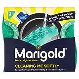 Marigold Limpieza Me Softly Non arañazos Estropajo 2por paquete