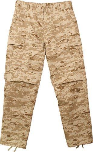 Desert Digital Camouflage BDU Pants Small Bdu Sky Blue Camo