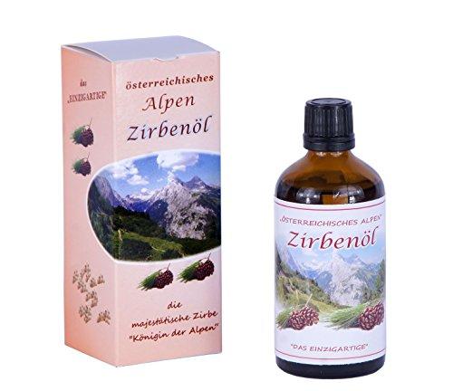 Alpen-Zirbenöl aus Österreich - 50 ml - ätherisches Öl aus der Zirbe, 100 % naturrein