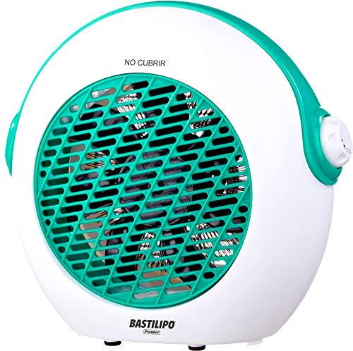 Bastilipo-TVC-2000V-TERMOVENTILADOR-10002000W-TVC-2000V-Muy-silencioso-Sistema-de-7-aspas-Funcin-de-Aire-Fresco-para-Verano-Dispositivo-antivuelco-termostato-Regulable-Color-Verde-1